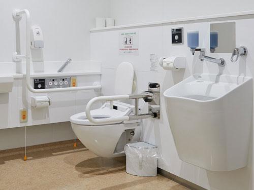オストメイト対応トイレ写真