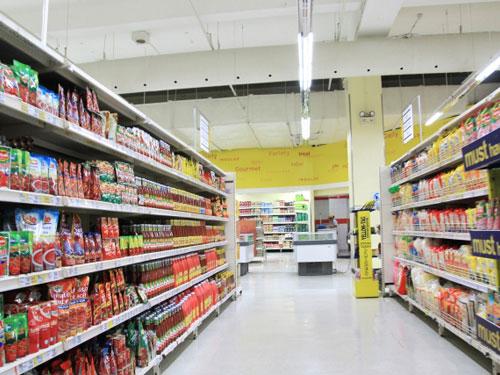 スーパー写真(ショッピング施設の例)