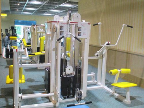 トレーニングジム写真(スポーツ施設の例)